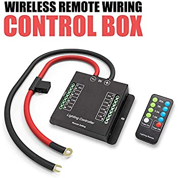 Excellent Amazon Com Relay Control Box For Jeep Wrangler Jk Electronic 6 Wiring Digital Resources Otenewoestevosnl