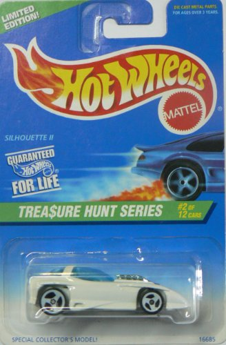 Mattel Hot Wheels 1996 Treasure Hunt Series Limited Edition Silhouette II (#2 of 12), Collector No. 579