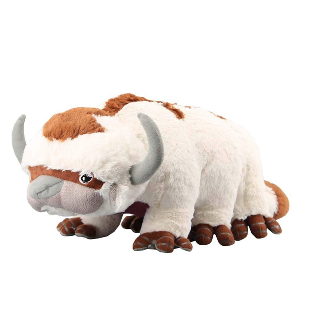 EU_LevinArt Avatar Last Airbender Appa Plush Toy Soft Stuffed Animals Cattle and Bat Doll Children Toys
