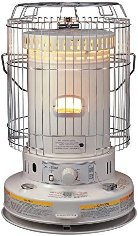 Indoor Kerosene Heater VCF 23,800 BTU Convection Style Kerosene Wick Heater