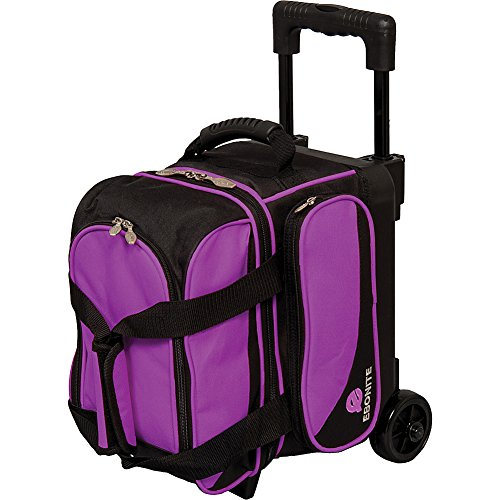 Ebonite Transport I Single Roller Bowling Bag, Purple