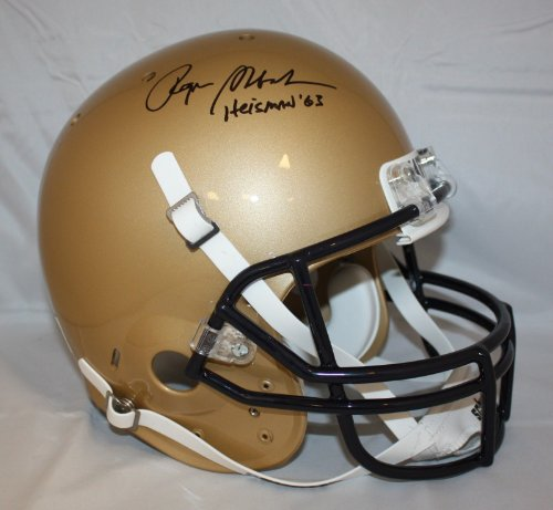 Roger Staubach Autographed F/S Navy Midshipmen Helmet- JSA Authenticated