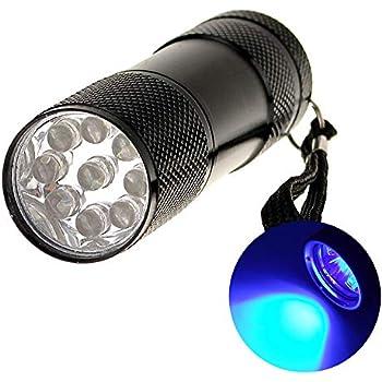 Emart Cheap Portable Mini Led Flashlights 9 Led Bulb Uv