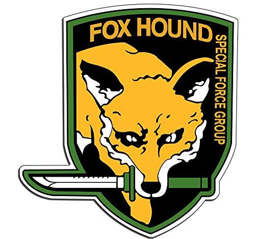 Orange Hounds (Metal Gear Solid Foxhound Vinyl Decal Sticker 4