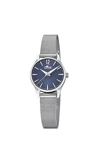 8fd9b92b54d4 Lotus Watches Reloj Análogo clásico para Mujer de Cuarzo con Correa en  Acero Inoxidable 18571 7  Amazon.es  Relojes