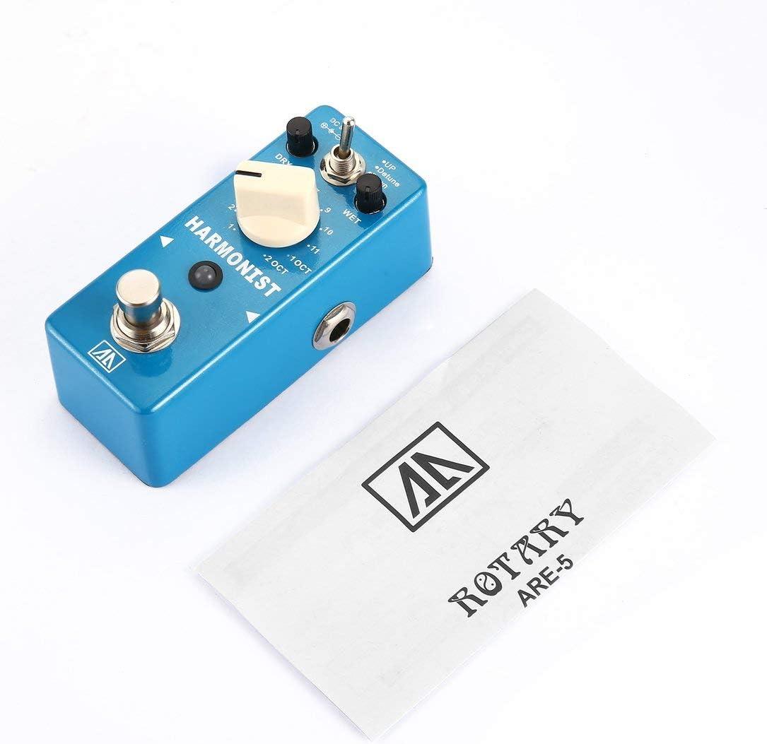 AROMA AHAR-5 HARMONIST cambio de tono de efectos de guitarra pedal de efectos 3 Modos de tono armónico de cambio con True Bypass