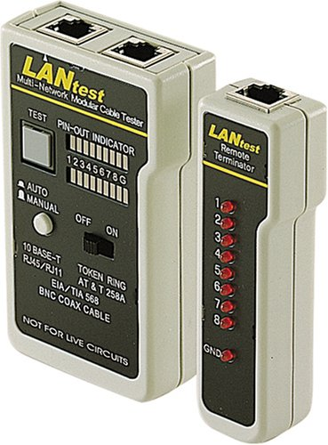 C2G/Cables to Go 13138 LANtest Network/Modular Cable Test (Lantest Kit)