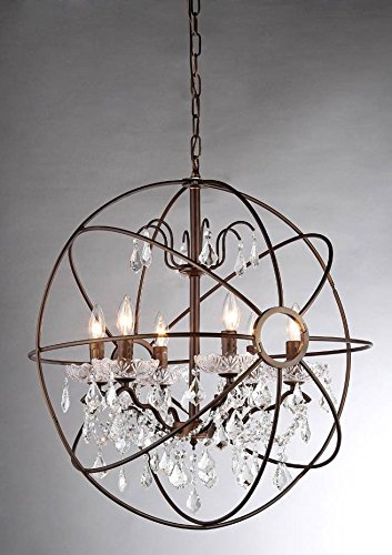 Whse of Tiffany RL8049-32AB Edwards Antique Bronze 32 inch Chandelier