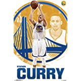 "NBA Golden State Warriors, Stephen Curry, 22"" x 34"", Wall Poster"