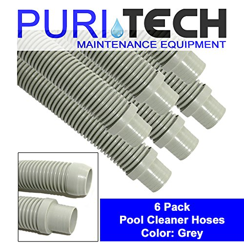 6 Pack PuriTech Universal Pool Cleaner Hose 48