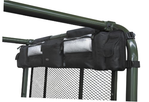 (Classic Accessories QuadGear UTV Roll Cage Organizer (, Black))