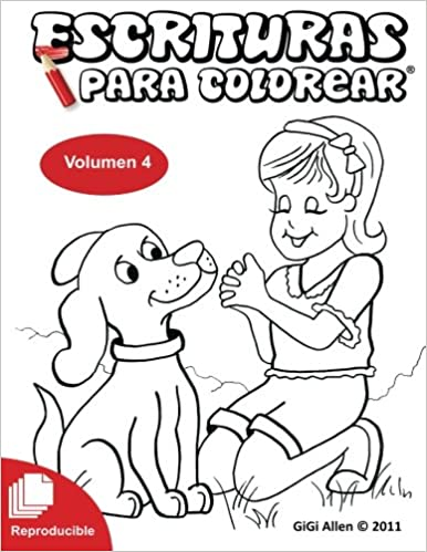 Escrituras Para Colorear 4: Biblia Reproducible (Volume 4) (Spanish ...