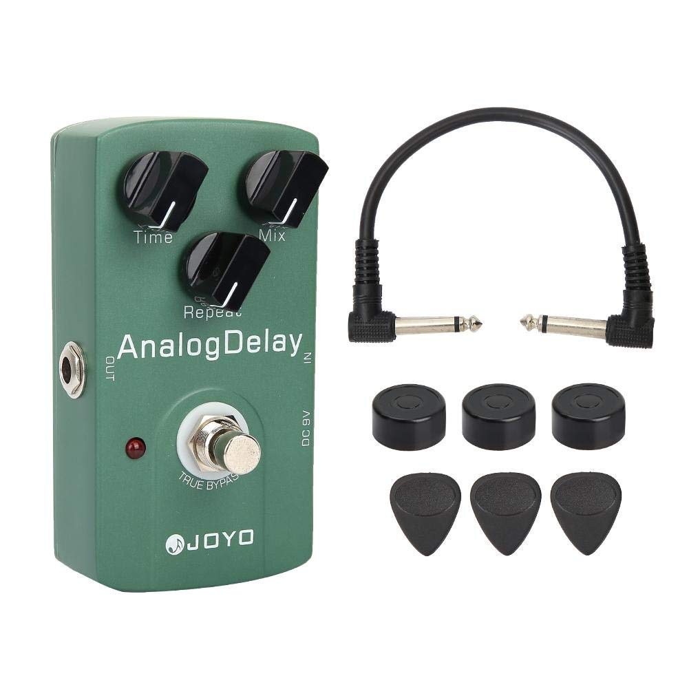 Guitar Effect Pedal, RiToEasysports JF-33 Analog Delay Electric Guitar Effect Pedal with True Bypass & Heavy Duty Switch