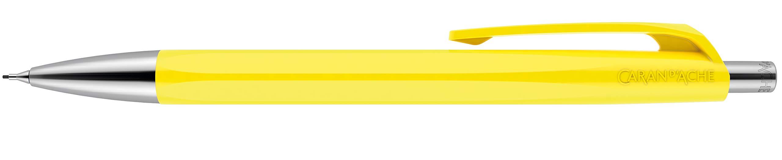 CARAN DACHE 888 Lápiz Mecánico Infinito - Amarillo Limón