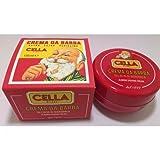 Classic Italian Cella Shave Soap Cream 150g Hard Plastic Travel Container