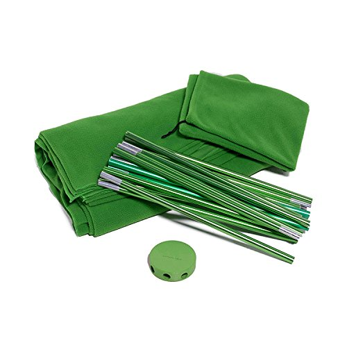 Portable Green Screen Kit by Acro Products – Wrinkle-resistant, chromakey backdrop & collapsible stand. Take it with you and spend less time setting up and editing. by ACRO
