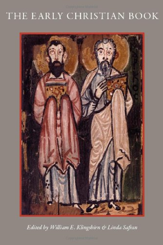 The Early Christian Book  Cua Studies In Early Christianity