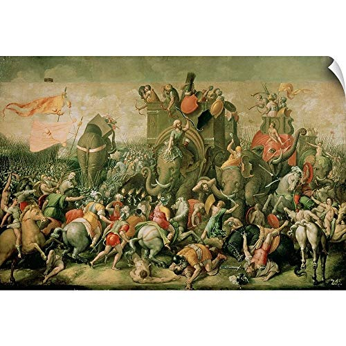 CANVAS ON DEMAND The Battle of Zama, 202 BC, 1570-80