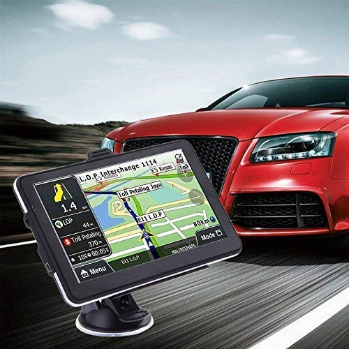 Yuyitec Car Vehicle GPS Navigation 7 Inch 8GB Capacitive Touchscreen System Vehicle GPS SAT NAV Included North American Maps
