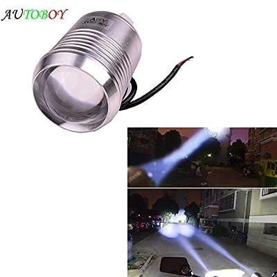ABy 1 x High Power 12V 30W U2 Car LED Fog Lamp Spotlight HeadLight Driving Lamp For Motorbike/ATV/SUV/Truck Waterproof Black Shell