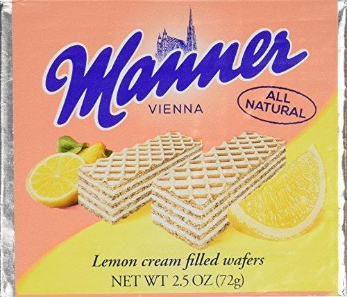 - Lemon Wafer Pocket Pack: 12 Count