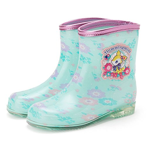 Sanrio Hamming mint Kids boots Hana 21cm From Japan (Boots From Dora Costume For Adults)