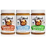 All-Natural Peanut Butter Variety Pack, Seasonal, Pumpkin Spice, Sugar Cookie & Gingerbread