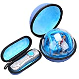 Aproca Hard Travel Storage Carrying Blue Case for