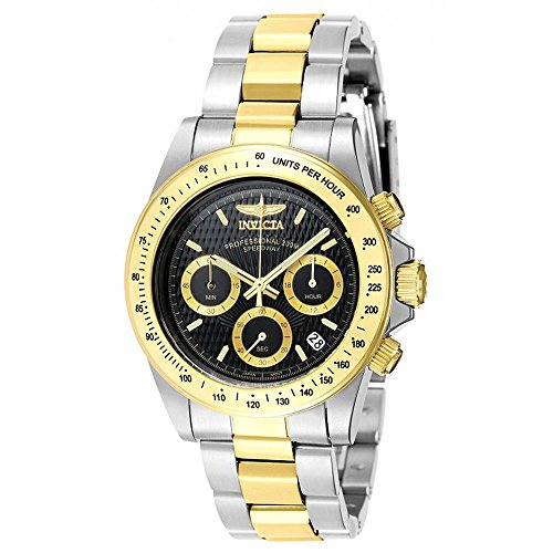 Invicta Speedway Swiss Chrono Watch - Invicta Men's 7028 Signature Collection Speedway Two-Tone Chronograph Watch