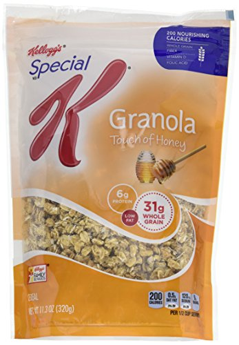 Kellogg's Special K Low Fat Granola Touch of Honey 11.3 OZ (Pack of 6)