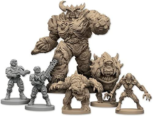 The Board Game 2nd Edition Lot of 4 PINKY Sci Fi Miniature Figures NEW!! DOOM