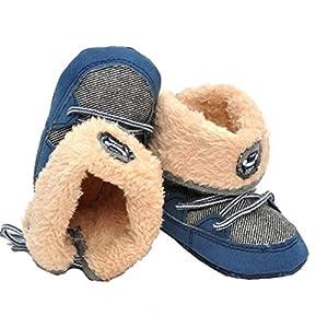 Ularmo Schuhe für 0-12 Monate Baby, Snow Boots Soft-Kleinkind Stiefel...