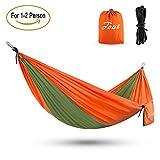 Touz-Double-2-Person-Parachute-Lightweight-Portable-Nylon-Fabric-Travel-Camping-Hiking-Hammock