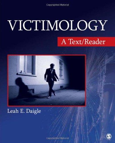 Victimology:Text/Reader