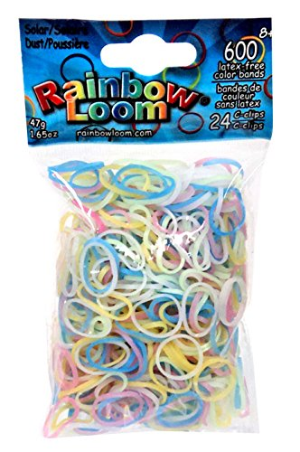 NEW!!! Original Rainbow loom- Color changing solar bands!! Dust ( Assorted Colors) by Rainbow Loom