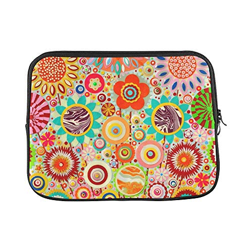 Design Custom Abstract Colourful Art Acrylic Art Painting Sleeve Soft Laptop Case Bag Pouch Skin for MacBook Air 11