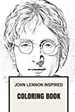 John Lennon Inspired Coloring Book: Beatles and Sixties Pop Culture Inspired Adult Coloring Book (Coloring Book for Adults)