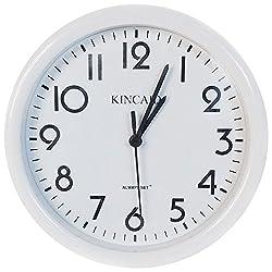 Kincaid Always Set Wall Clock, White