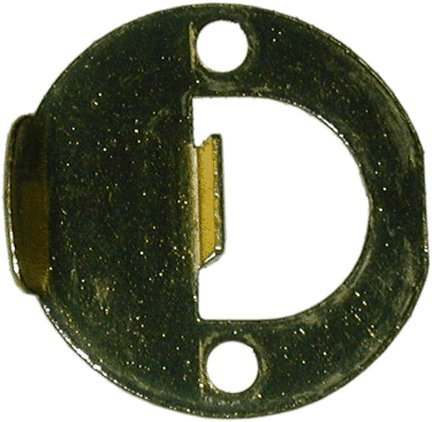 Polished Brass Accessory Strike Plate - 3