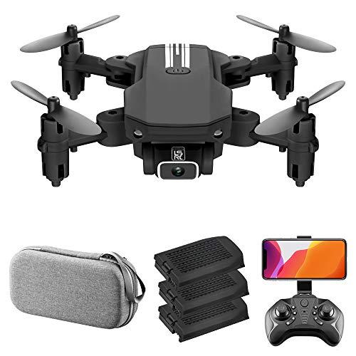 Benkeg RC Mini Drone LS-MIN with Camera 4K RC Quadcopter 13mins Flight Time 360° Flip Gesture Photo Video Track Flight…