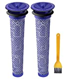 Filter Replacement for Dyson V6, V7, V8, DC58, DC59, DC61, DC62 Vacuum Cleaners, Washable Thickening 2 Packs Pre-Filter for Dyson,Replaces Part 965661-01 ABClife