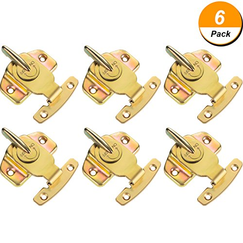 Brass Plated Table Locks Dining Training Table Buckles Connectors Hardware Accessories (Brass Plated Latch)