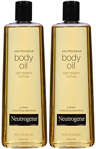 (Neutrogena Body Oil, Light Sesame Formula, 16 Ounce (Pack of 2))