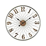 Hamptons Collection Moriarty Wall Clock