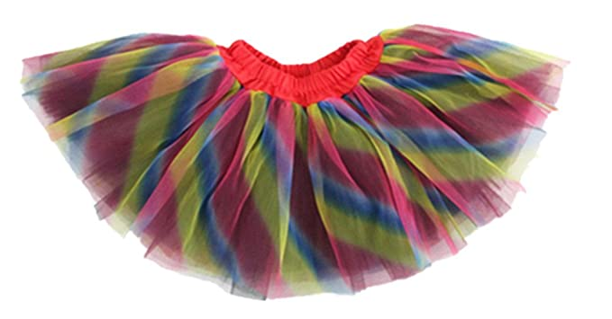 SEXY LADY Girls Tutu Skirts 2-16 years old One Size Rainbow
