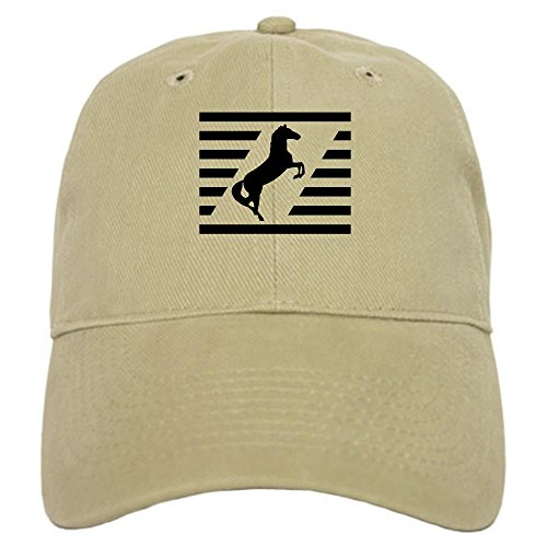 CafePress Norfolk Southern Thoroughbred Hat Baseball Cap with Adjustable Closure, Unique Printed Baseball Hat Khaki (Hat Norfolk Southern)