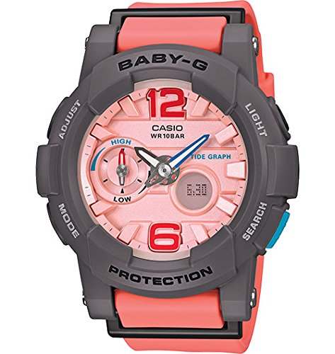 G Shock BGA180 4B2 Baby G Stylish Watch