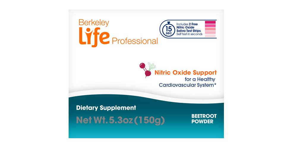 Berkeley Life Professional - Delicious Beetroot Powder - Nitric Oxide Booster & Support Supplement - Support Healthy Circulation & Blood Pressure - 30 Servings by Berkeley Life Professional (Image #4)