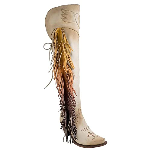d37c4c42429 Junk Gypsy Women's by Lane Spirit Animal Tall Boot Snip Toe