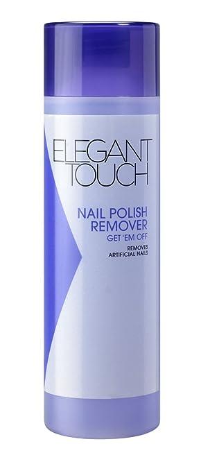 Elegant Touch Nail Polish Remover - Get em Off (Acetone Polish ...